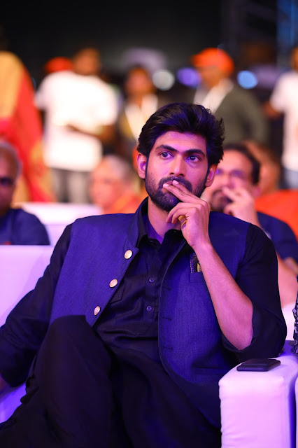 Rana at Baahubali 2 Pre Release Event