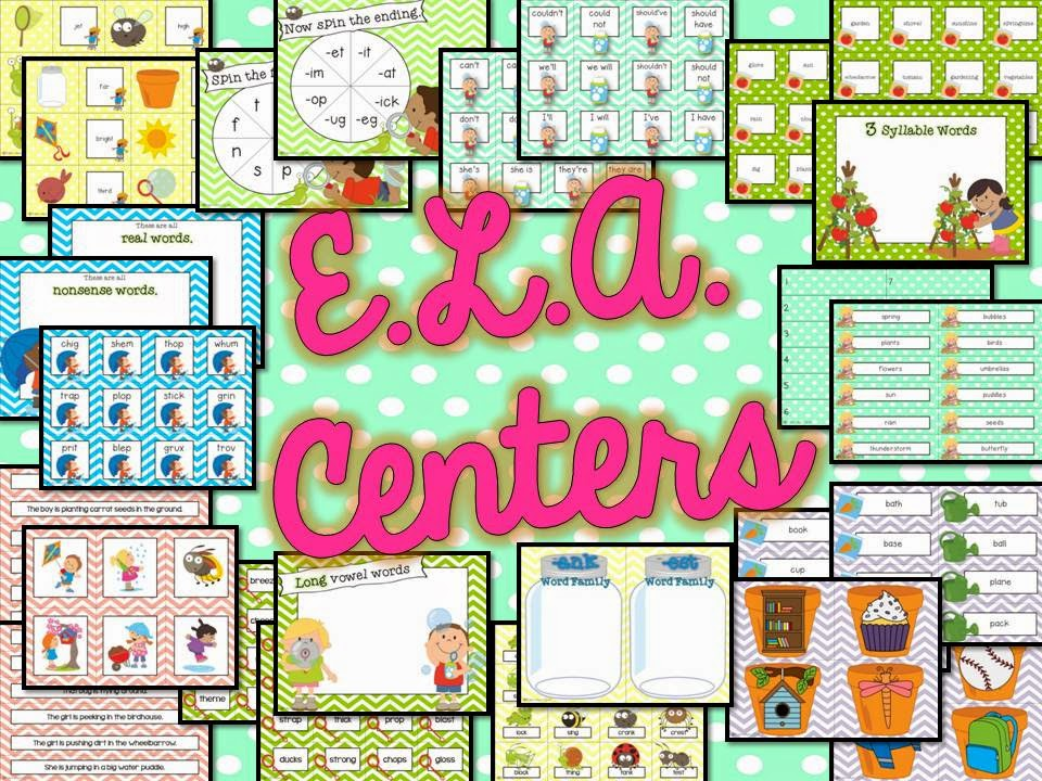 spring centers for math and ELA