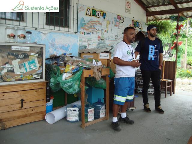 Educação ambiental na Comcap