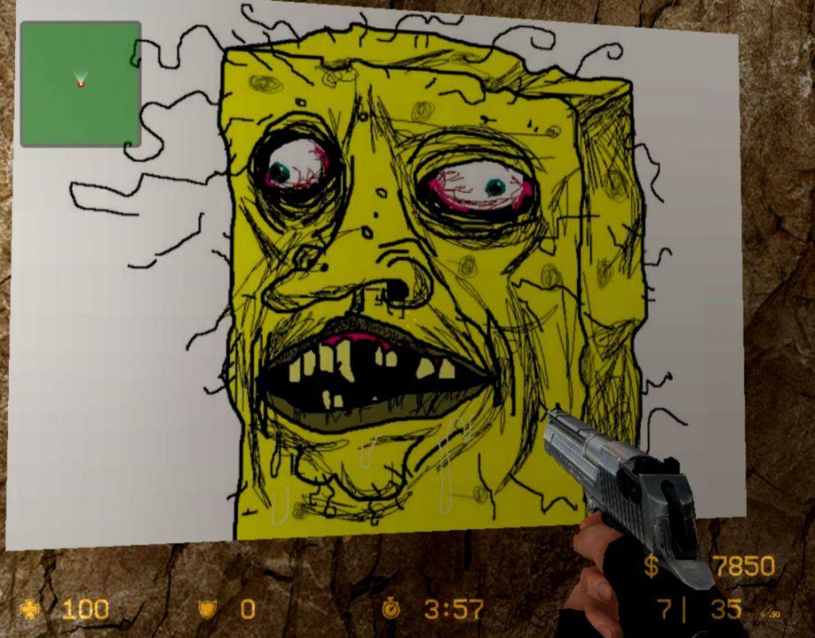 Spongebob Wallpaper Funny Face