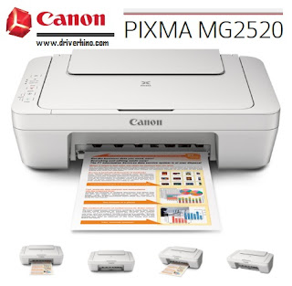 Canon PIXMA MG2520 Drivers & Software Download for Windows, Mac and Linux