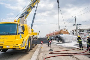 Another Fuel Tanker Tumbled In Lagos, See What Happened After(Photos)