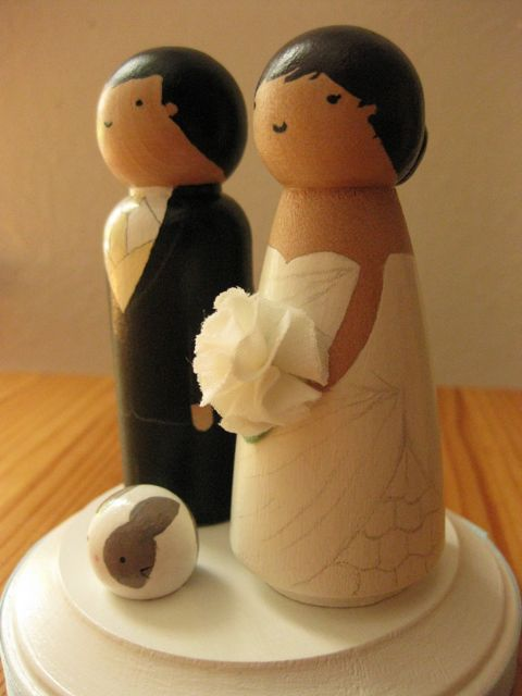 make wedding cake topper the toki cafe our wedding cake topper 17006