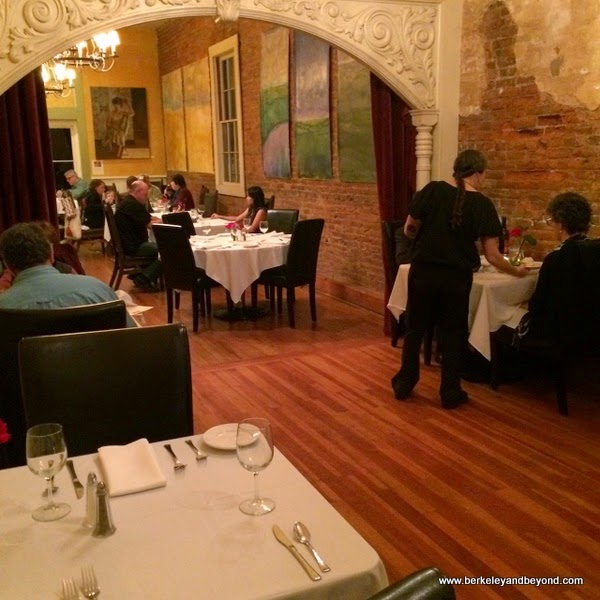 dining room/restaurant in Imperial Hotel in Amador City, California