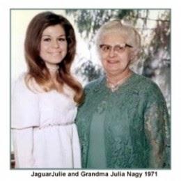 jaguarjulie ann brady and grandma julia nagy 1971