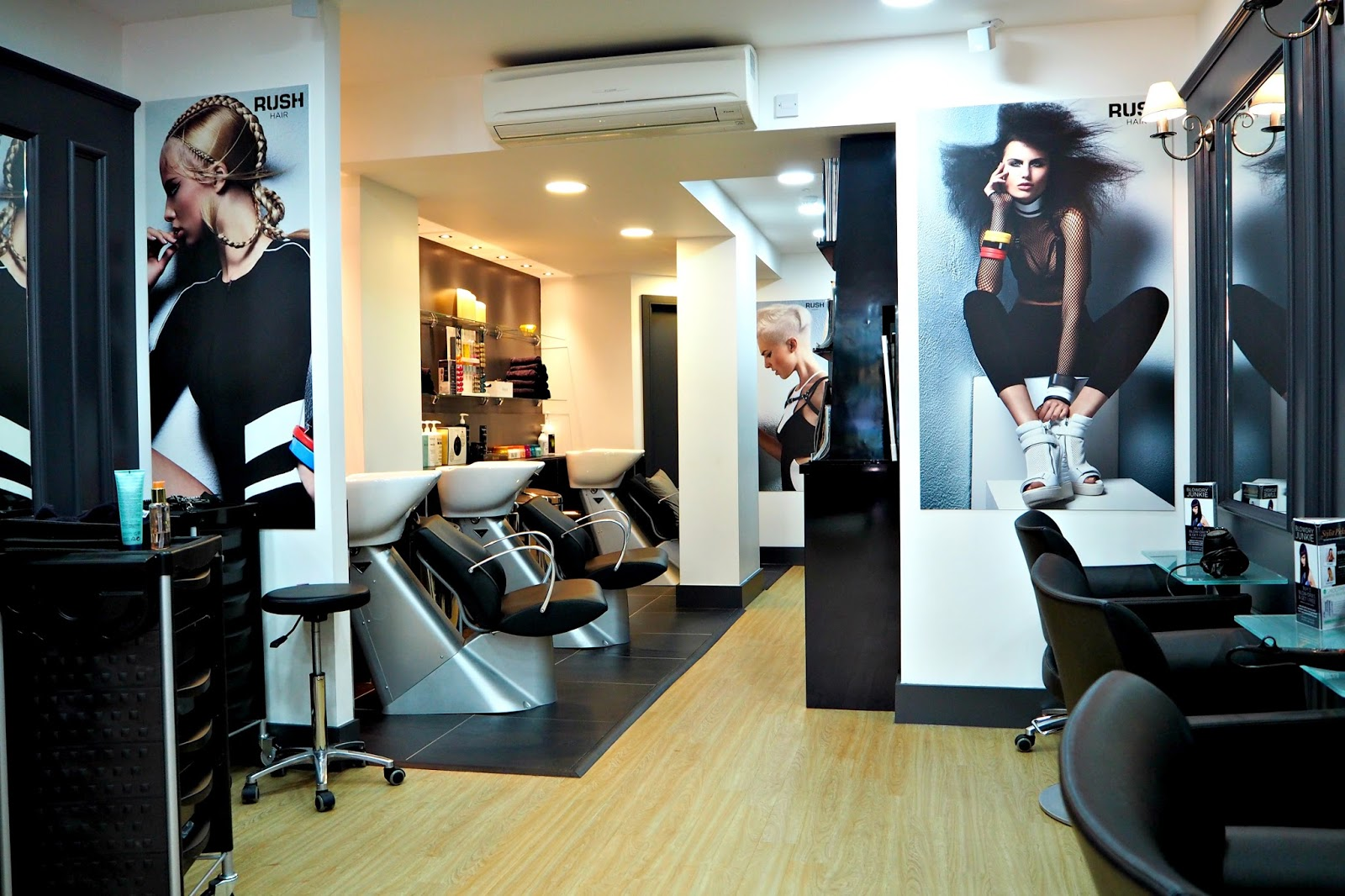 The new RUSH salon East Grinstead, West Sussex