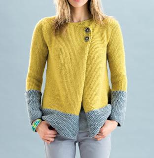 Veste au tricot