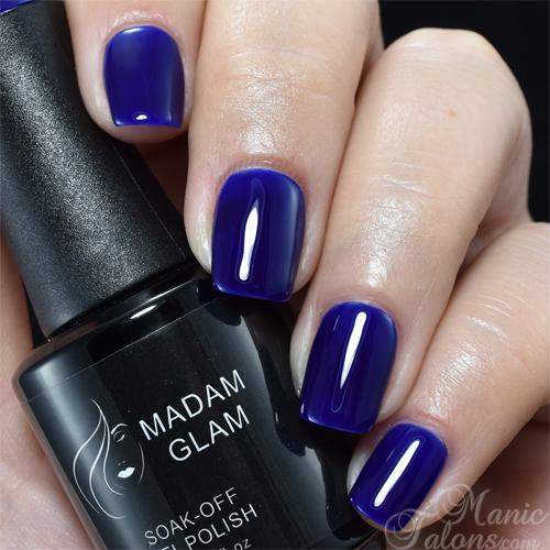 Madam Glam Gel Polish Electric Blue
