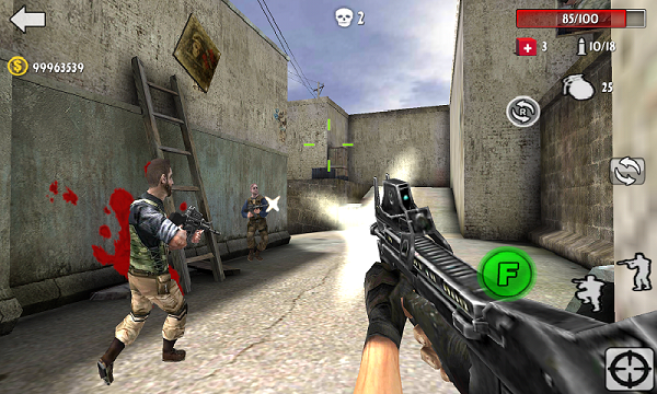 Download Gun Strike Shoot MOD APK Unlimited Money Gems