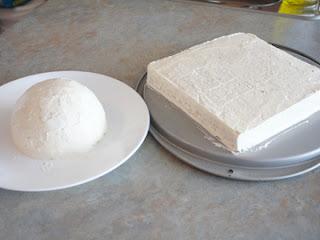 cómo hielo una torta