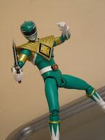 SH Figuarts Dragon Ranger Green Ranger Zyuranger Power Rangers Burai Tommy