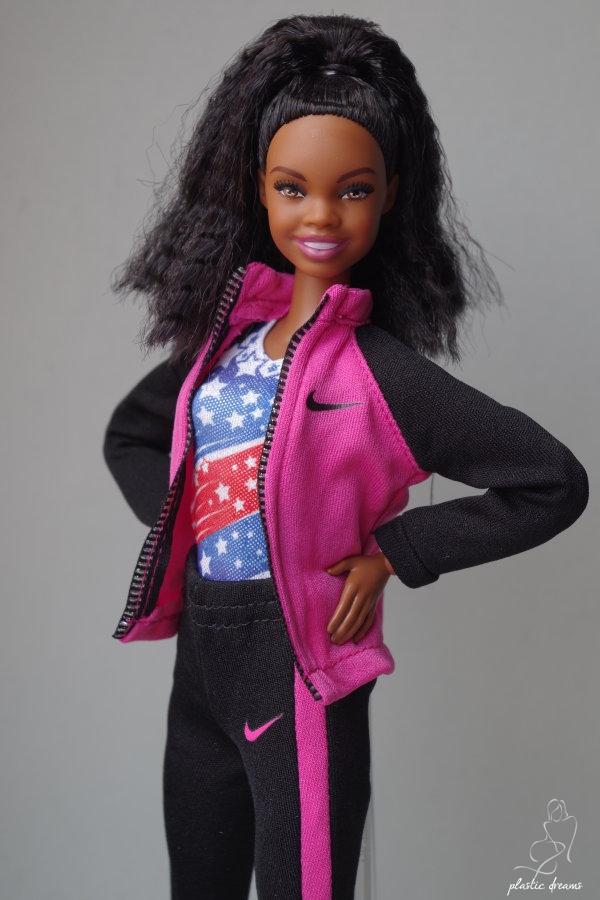 plastic dreams barbie et miniatures gabby douglas