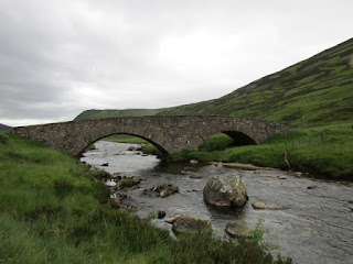 old bridge near the village of braemar
