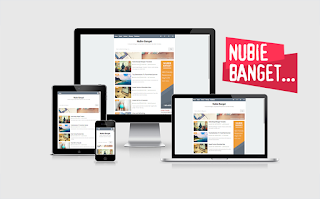 Nubie Template Blogger Gratis Responsive
