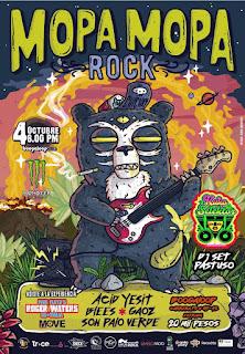MOPA MOPA ROCK 4 de octubre 2018