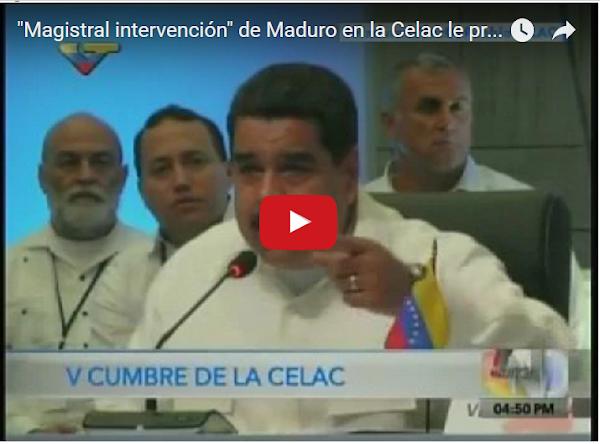 Delcy se quedó dormida oyendo a Maduro