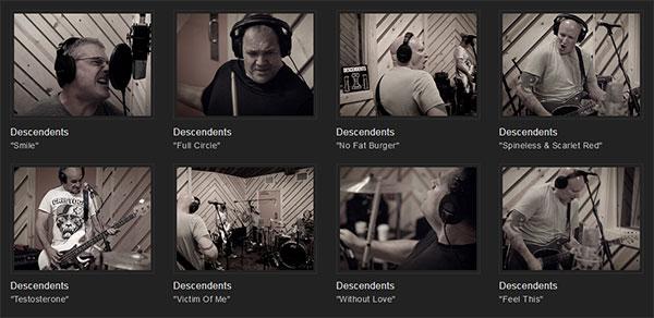 Descendents live @ 91X X-session