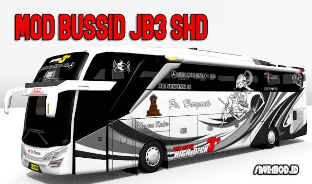 Download MOD BUSSID JB3 SHD versi Terbaru 2019
