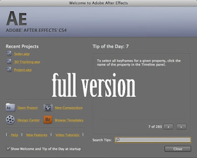 Cara Membuat After Effects Menjadi Full Version