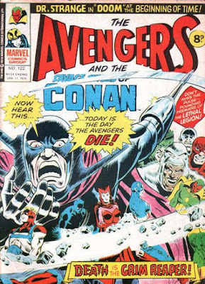Marvel UK, Avengers #122, Grim Reaper