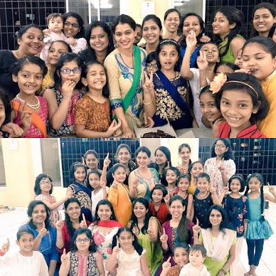 Urmila Kothare's Dance School NrityAsha Completes 1 Year
