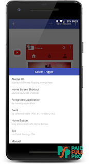 Overlays Floating Automation latest pro apk download