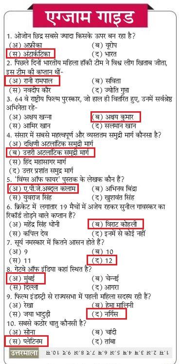 General Knowledge in Hindi PDF