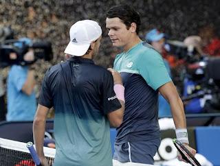 Lucas Pouille reaches Australian Open semis