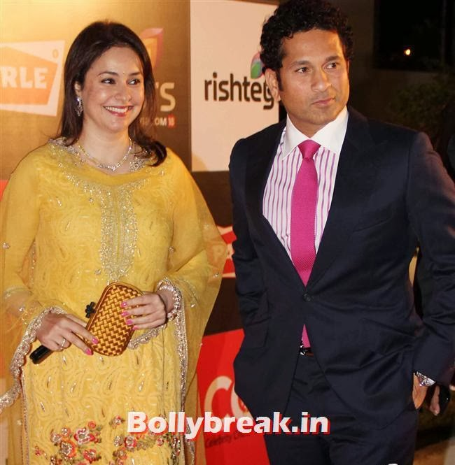 Sachin Tendulkar and Anjali Tendulkar, Hot Celebs Grace the Celebrity Cricket League 4 Press Meet