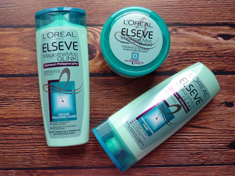 L'Oreal Elseve Magiczna Moc Glinki –  dla włosów przetłuszczających się