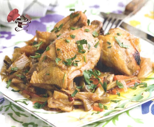 Pollo en Escabeche de sidra