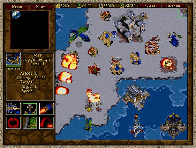 Games que marcaram - Orcs no Warcraft 2