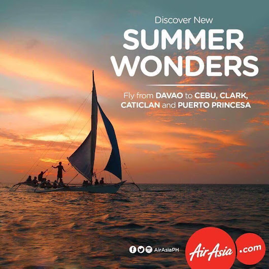 Chasing Wonders With Air Asia's New Summer Destination for only P788