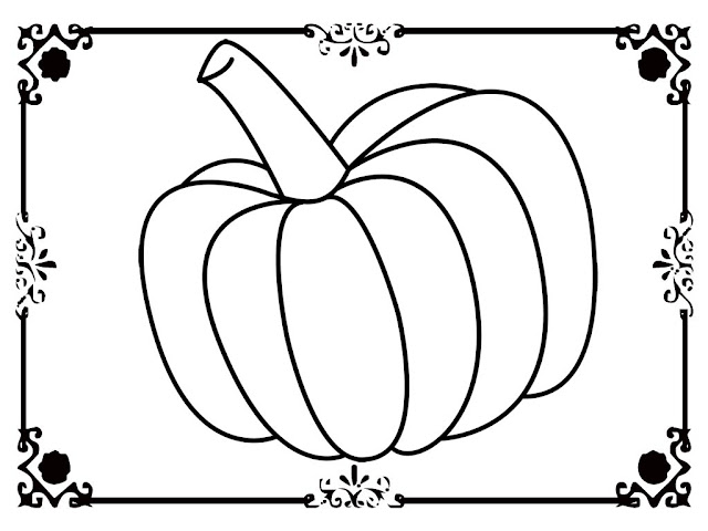 pumpkin coloring pages printable