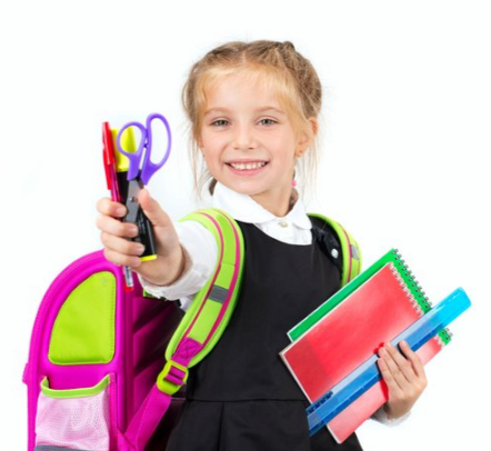 Menyiapkan Alat-Alat Sekolah