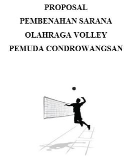 Contoh Surat Untuk Kepala Kantor Pora Dalam Pembuatan Proposal Bola Volley Muda Mudi Condrowangsan