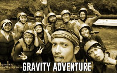 rafting bandung gravity adventure bandung jawa barat