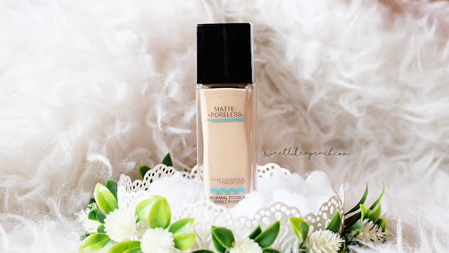 review Maybelline Fit Me! Matte Poreless Foundation
