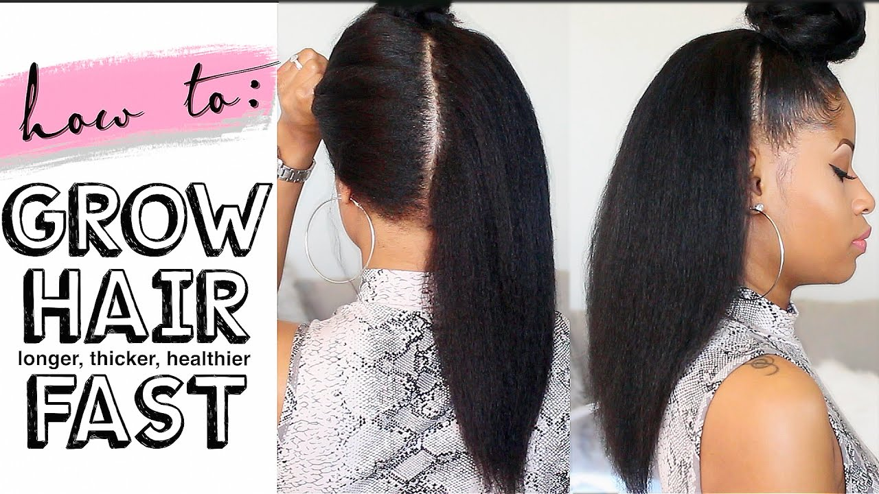 How To || Grow Hair Long, Thick, and Healthy Fast ...