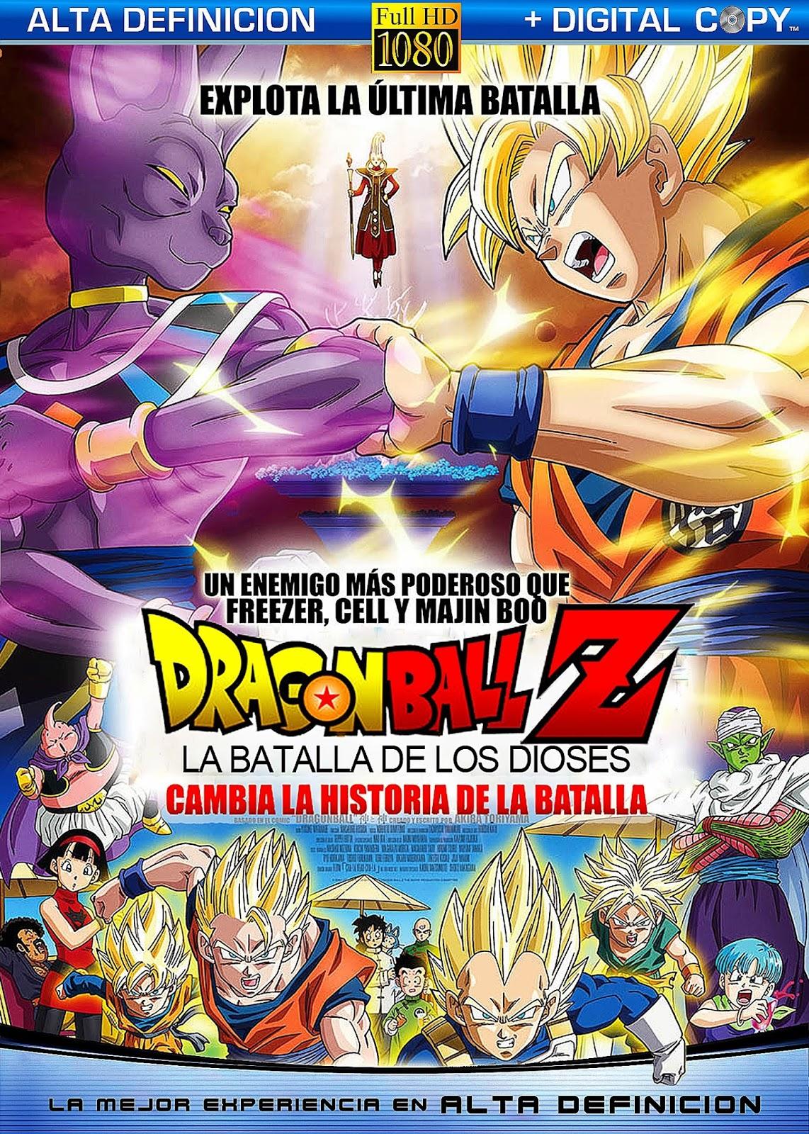 Dragon Ball Z La Batalla De Los Dioses BDRip 720p ESPAÑOL LATINO
