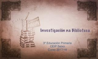 Investigación na biblioteca