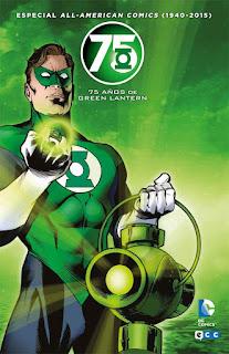 Green Lantern 75 años
