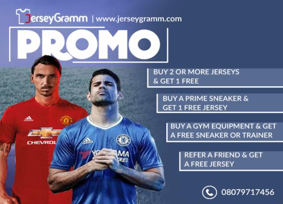 JerseyGramm promo: Buy 2 or more jerseys & get 1 free