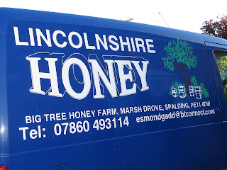Lincolnshire Honey, Big tree honey farm van.