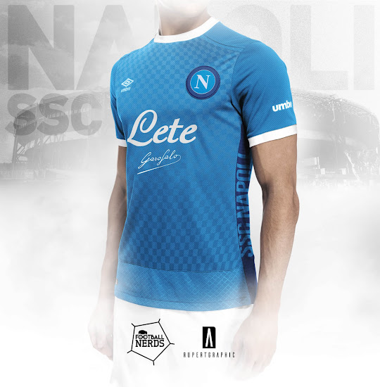 Umbro Napoli 17 18 Home Away And Third Concept Kits Footy Headlines