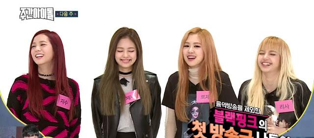 BLACKPINK Untuk Variety Show Pertamanya Weekly Idol Bagikan Preview Penampilan