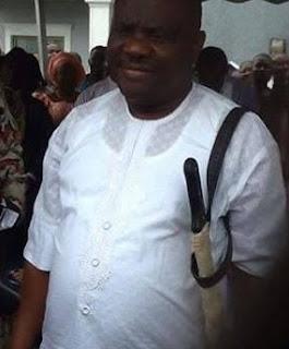 governor wike slapped amaechi escort