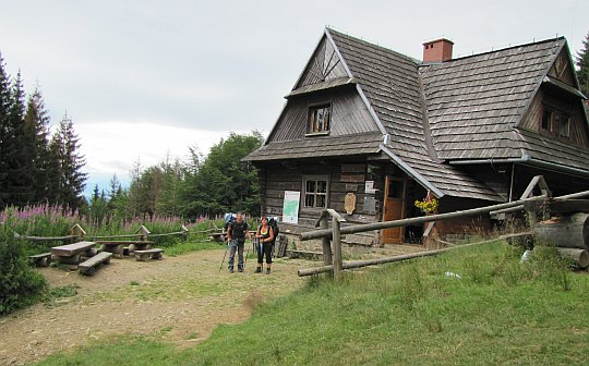 Schronisko na Hali Krupowej im. Kazimierza Sosnowskiego (1152 m n.p.m.).
