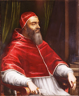 Pope Clement VII, depicted by Sebastiano del Piombo in 1531