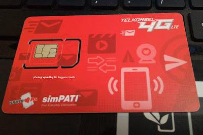 Sim card Telkomsel baru dengan nomor lama.